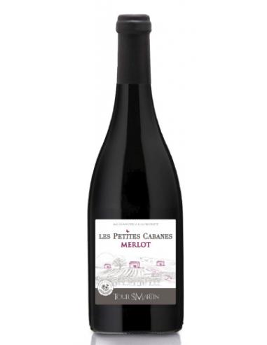"""Tour Saint Martin """"Les Petites Cabanes - Merlot"""" IGP Oc Rouge 2019"""