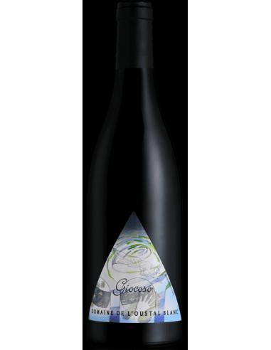 """Domaine de L'Oustal Blanc """"Giocoso"""" AOC Minervois Rouge 2015"""