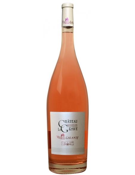 Château La Grave Marie Galante AOC Minervois Rosé 2019 Magnum