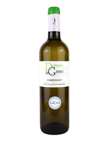 """Château La Grave """"Chardonnay"""" IGP Coteaux de Peyriac Blanc 2019"""