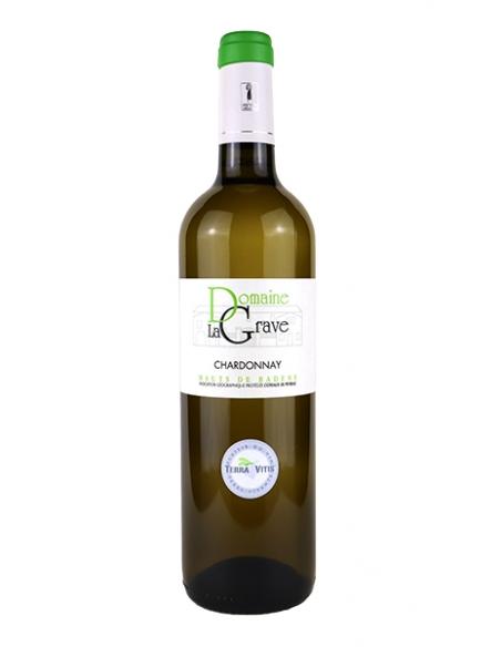 """Château La Grave """"Chardonnay"""" IGP Coteaux de Peyriac Blanc 2020"""