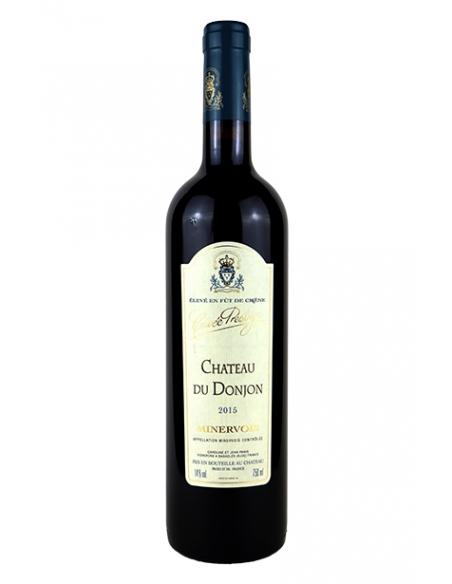 """Château du Donjon """"Prestige"""" AOC Minervois rouge 2015"""