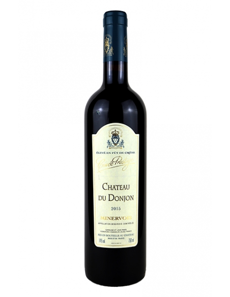 "Château du Donjon ""Prestige"" AOC Minervois rouge 2015 Magnum"