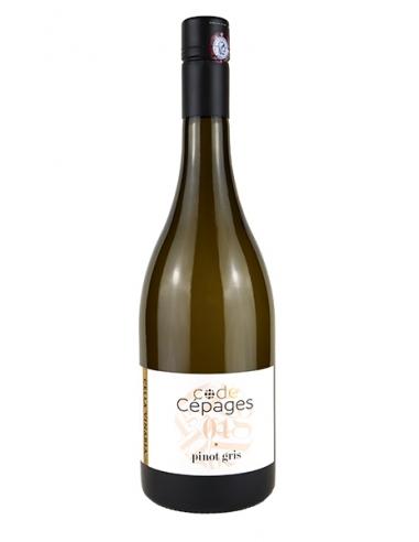 """Alliance Minervois """"Code Cépages - Pinot Gris"""" IGP Oc Blanc 2020"""