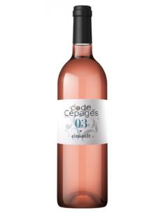 """Alliance Minervois """"Code Cépages - Cinsault"""" IGP Oc Rosé 2019"""
