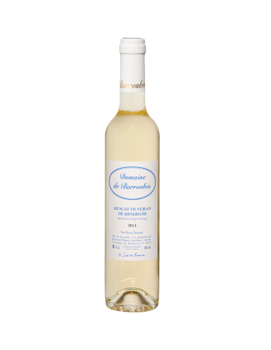 """Domaine de Barroubio """"Cuvée Bleue"""" AOC Muscat de St Jean de Minervois 2018"""