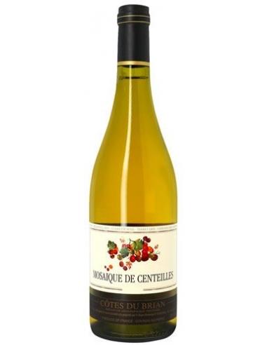 """Clos Centeilles """"Mosaïque"""" IGP Côtes du Brian Blanc 2017"""