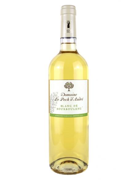 """Château Pech d'André """"Blanc de Bourboulenc"""" IGP Cote du Brian Blanc 2019"""