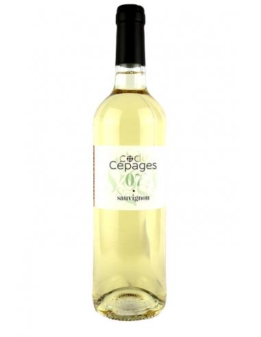 """Alliance Minervois """"Code Cépages - Sauvignon"""" IGP Oc Blanc 2020"""