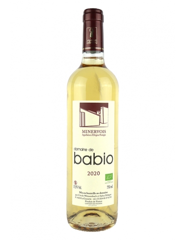 Domaine de Babio AOC Minervois Blanc 2020