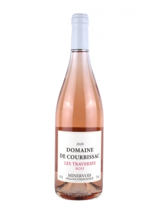 """Domaine de Courbissac """"Les Traverses"""" AOC Minervois Rosé 2020"""