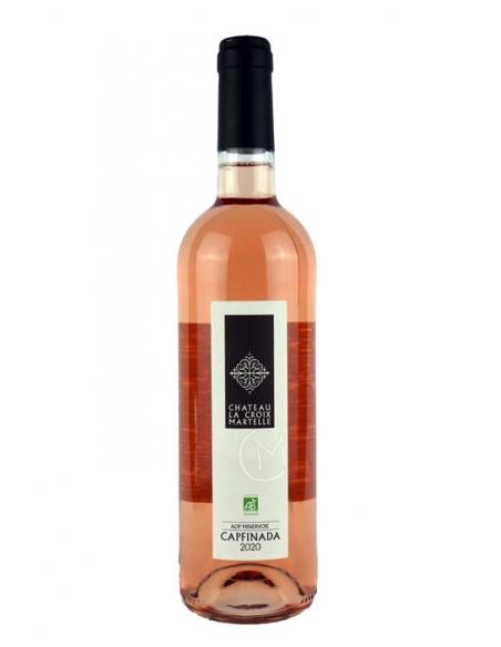"""Château la Croix Martelle """"Capfinada"""" AOC Minervois Rosé 2020"""