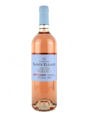 """Château Sainte Eulalie """"Printemps d'Eulalie"""" AOC Minervois Rosé 2020"""