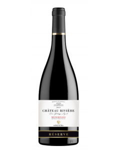 """Château Rivière """"Réserve"""" AOC Minervois Rouge 2018"""