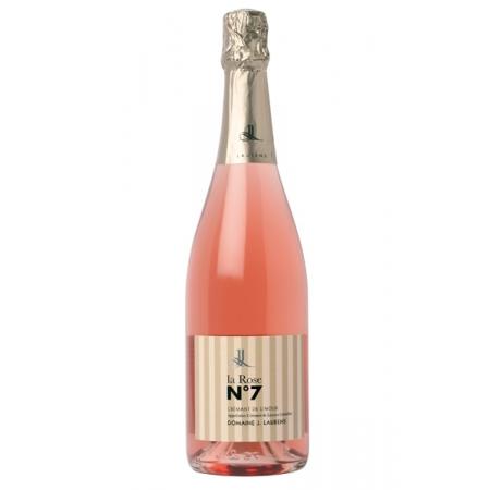 """Domaine J.Laurens """"N°7"""" AOC Crémant de Limoux Rosé - Brut"""