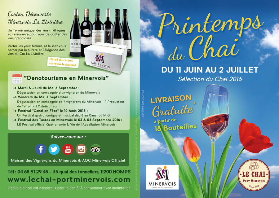 Operation Printemps du Chai 2016