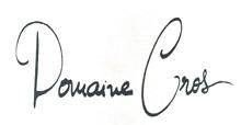 Domaine Pierre Cros